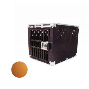 HYDROGROOM 200 Crate gyvūnų narvas viengubas karamelinės spalvos