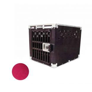 HYDROGROOM 200 Crate gyvūnų narvas viengubas aviečių spalvos