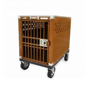 HYDROGROOM 400 Crate gyvūnų narvas viengubas karamelinės spalvos