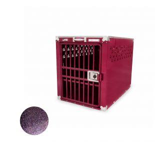 HYDROGROOM 400 Crate gyvūnų narvas viengubas violetinis