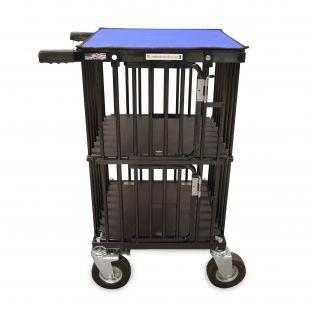 HYDROGROOM Mini double Decker 2- Berth gyvūnų vežimėlis dvigubas mėlynas