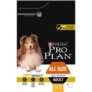PRO PLAN OPTIWEIGHT All Sizes Adult Dog Chicken, sausas pašaras suaugusiems šunims su vištiena 14 kg