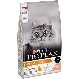 PRO PLAN OPTIDERMA Elegant Adult Cat Salmon, sausas pašaras suaugusioms katėms su lašiša 1.5 kg