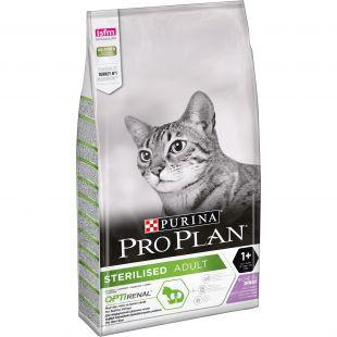 PRO PLAN OPTIRENAL Sterilised Adult Cat Turkey, sausas pašaras suaugusioms sterilizuotoms katėms su kalakutiena 10 kg