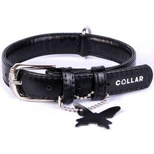 COLLAR GLAMOUR Odinis antkaklis juodas, 2x30-39 cm