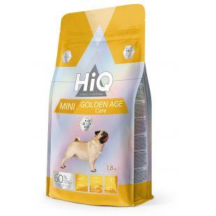 HIQ Mini Golden Age Care Sausas pašaras šunims 1.8 kg