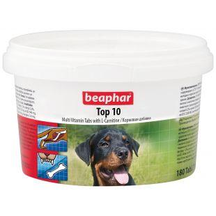 BEAPHAR Top-10 Bendri vitaminai šunims 180 tbl.