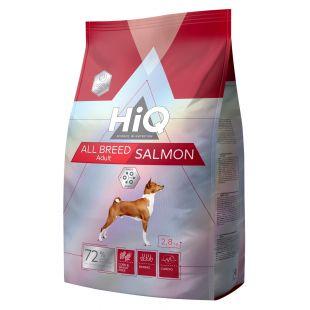 HIQ All Breed Salmon Pašaras visų veislių šunims 2.8 kg