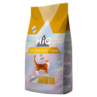 HIQ Golden Age care Pašaras katėms 6.5 kg