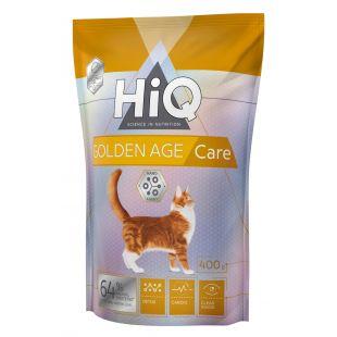 HIQ Golden Age care Pašaras katėms 400 g