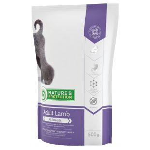 NATURE'S PROTECTION All breeds Adult Lamb Sausas pašaras šunims 500 g