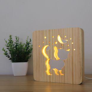 P.LOUNGE Medinis šviestuvas Kačiukas x 1