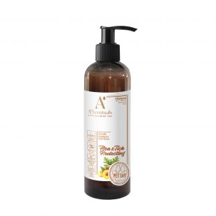 A'SCENTUALS Herbal Care Flea/Tick šampūnas su kokosų aliejumi 250 ml