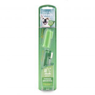 FRESH BREATH dantų šepetėlis šunims, užmaunamas ant piršto x 1