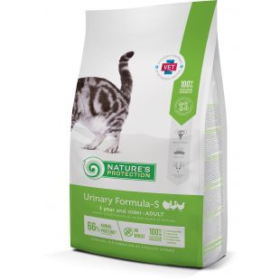 NATURE'S PROTECTION Urinary Formula-S Adult 1 year and older Poultry Sausas pašaras katėms 2 kg
