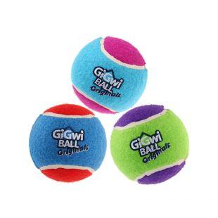 GIGWI Šunų žaislų rinkinys Teniso kamuoliai 3 vnt