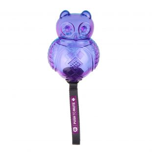 GIGWI Šunų žaislas Pelėda Push To Mute mėlyna/violetinė
