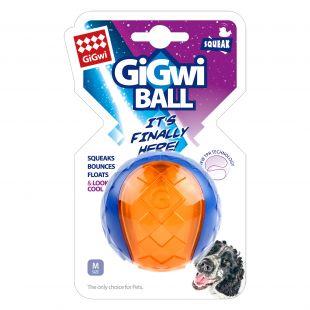 GIGWI Šunų žaislas Kamuolys cypiantis mėlynas/oranžinis 1 vnt