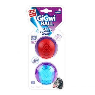GIGWI Šunų žaislų rinkinys Kamuoliai cypiantys 2 vnt