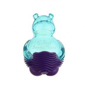 GIGWI Šunų žaislas Suppa Puppa Begemotas mėlynas/violetinis