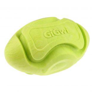 GIGWI Šunų žaislas Regbio kamuolys žalias