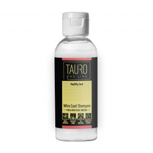 TAURO PRO LINE Healthy Coat wire coat  shampoo, šampūnas šunims ir katėms 65 ml