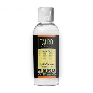 TAURO PRO LINE Healthy Coat KERATIN SHAMPOO, šampūnas šunims ir katėms 65 ml