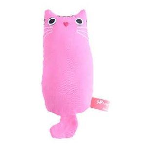 AMY CAROL Žaislas Fat cat su katžole 14x5.5x3cm