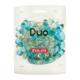 ZOLUX Dekoratyviniai akmenukai akvariumui Pearls 472g, dvispalviai