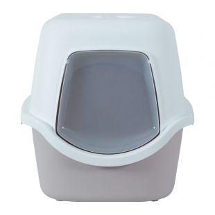 ZOLUX Kačių tualetas su filtru smėlio spalvos