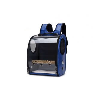PAW COUTURE Pernešimo krepšys gyvūnui, mėlynas