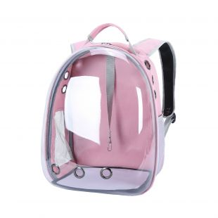 PAW COUTURE Pernešimo krepšys gyvūnui, rožinis