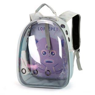 PAW COUTURE Pernešimo krepšys gyvūnui, violetinis