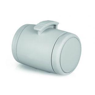 FLEXI Dėžutė skanėstams arba maišeliams, šviesiai pilkos spalvos