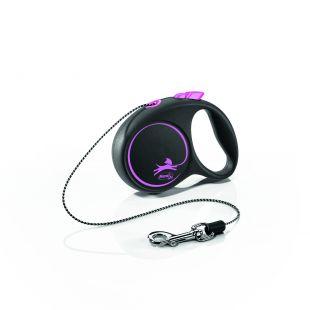 FLEXI Black Design virvelinis pavadis XS    rožinės spalvos
