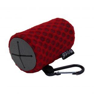 DOCO Dėklas išmatų maišeliams šuniui raudonas