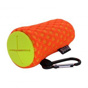 DOCO Dėklas išmatų maišeliams šuniui oranžinis
