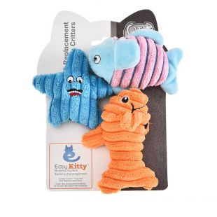 EASY KITTY Žaislas katėms 3 vnt