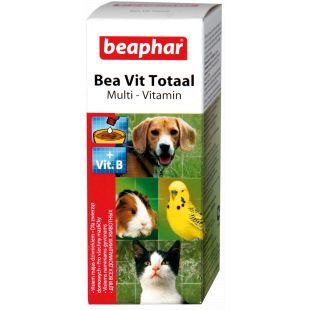 BEAPHAR Vit Total vitaminų lašai katėms ir šunims 50 ml