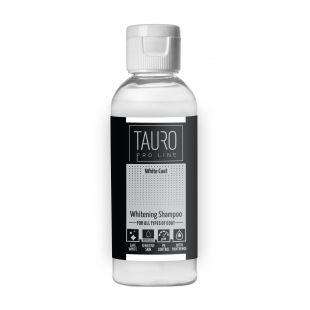 TAURO PRO LINE White Coat Whitening Shampoo 65 ml šampūnas šunims ir katėms
