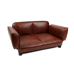 P.LOUNGE Guolis gyvūnams-sofa XL dydis,  100x50x45 cm, rudas