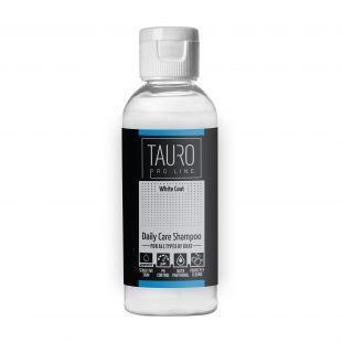 TAURO PRO LINE White Coat Daily Care Shampoo, šampūnas šunims ir katėms 65 ml