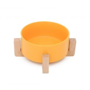 HOOPET Dubenėlis šunims keramikinis, geltonas