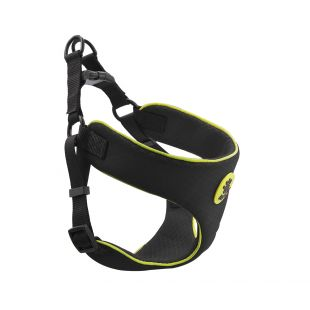 DOCO REFLECTIVE petnešos šuniui XL, juodos