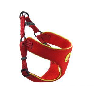 DOCO REFLECTIVE petnešos šuniui XL, raudonos