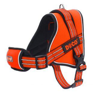 DOCO VERTEX petnešos šuniui XL, oranžinės