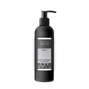 TAURO PRO LINE White Coat Whitening Shampoo , šampūnas šunims ir katėms 250 ml