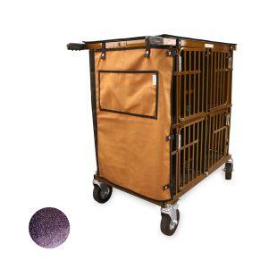 HYDROGROOM 4-Berth gyvūnų vežimėlis violetinis