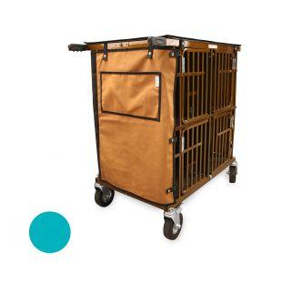 HYDROGROOM 4-Berth gyvūnų vežimėlis žalsvos spalvos