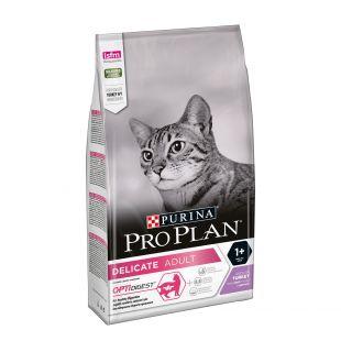 PRO PLAN Delicate Turkey Sausas pašaras katėms 1.5 kg